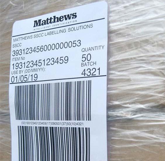 Pallet Labelling