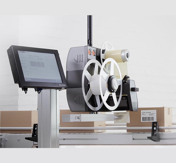 Carton Label Printer Applicator