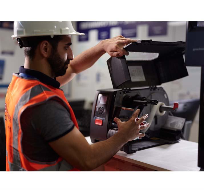 Honeywell PM42 Warehouse Label Printer